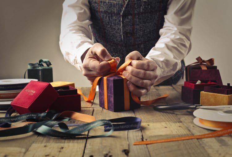 ambassador rewards adult tie bow on box