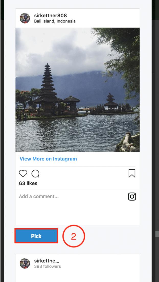 BrandChamp ambassador portal social media picker Instagram