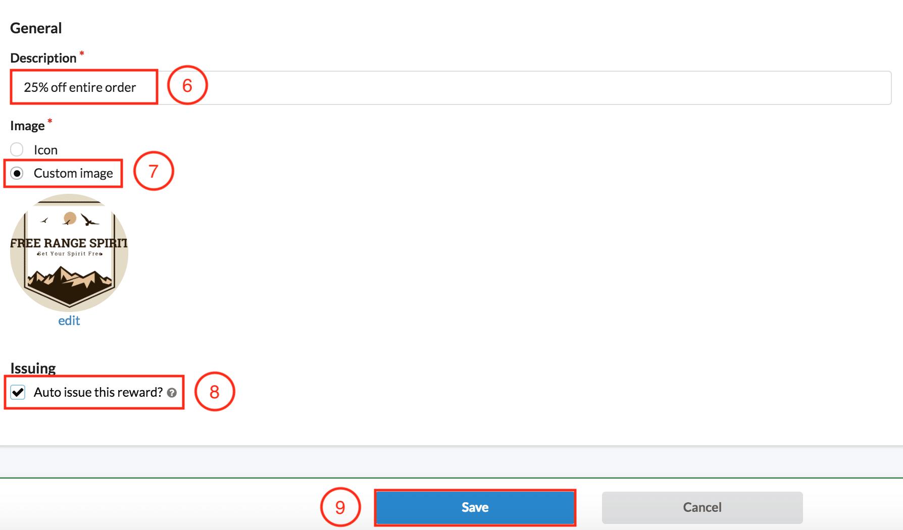 BrandChamp software rewards description image auto-issue
