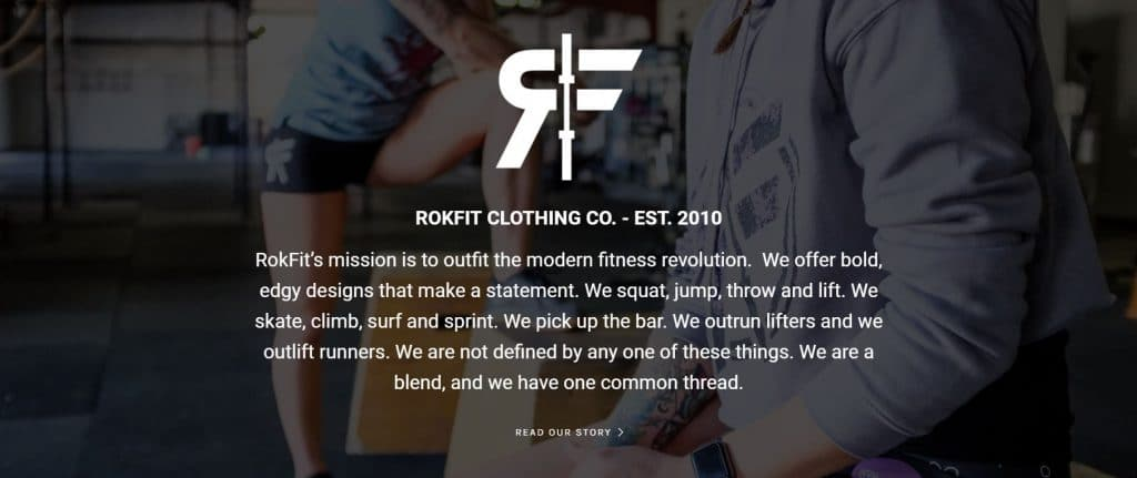 Rokfit's Fitness Brand Ambassador Program