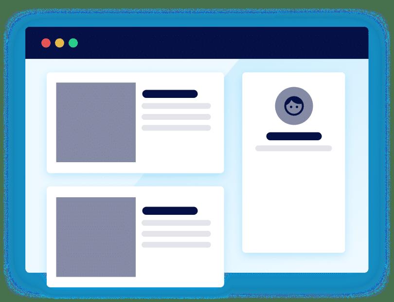 Interface drawing software managing ambassadors