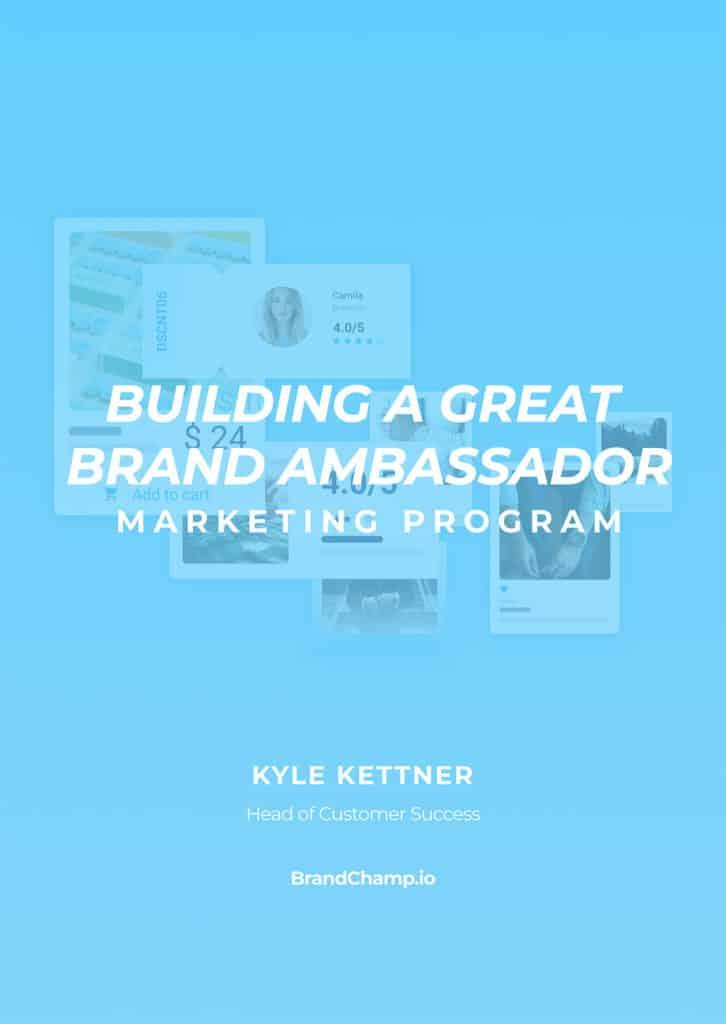 Cover of Building A Great Ambassador Program