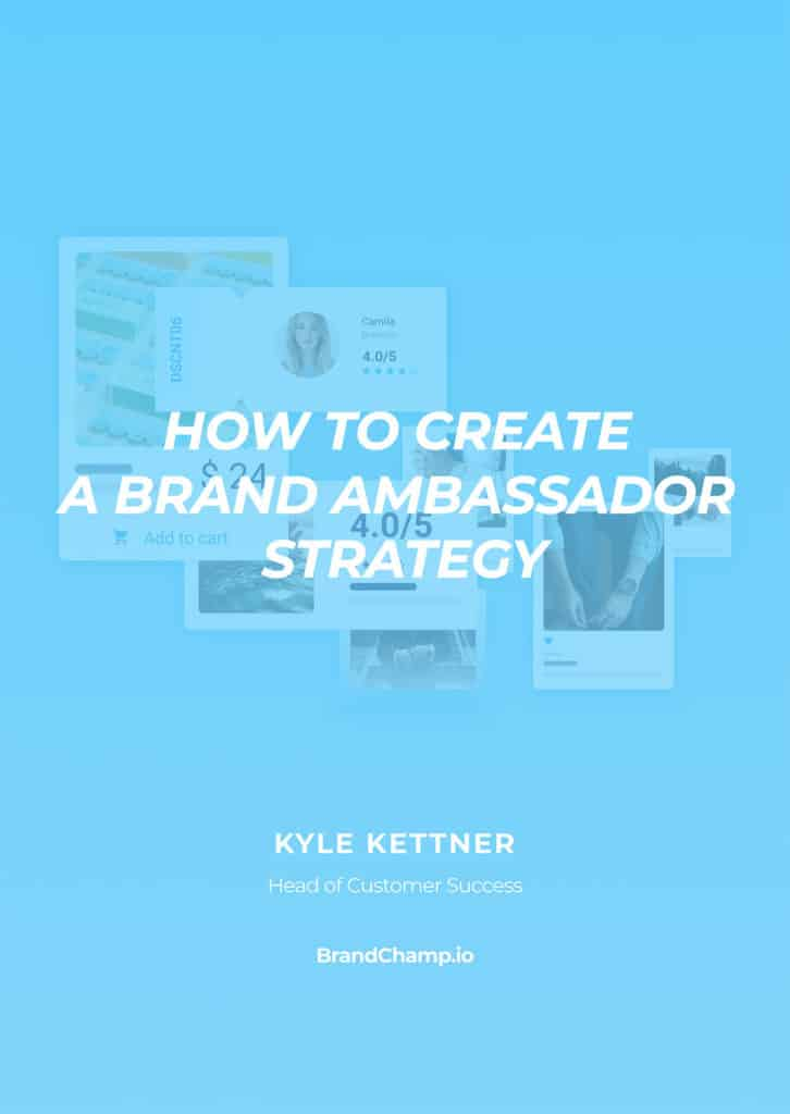 Cover of How To Create A Brand Ambassador Strategy